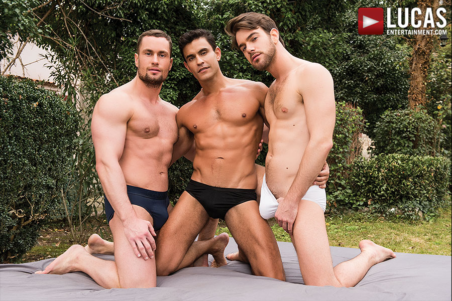 Stas Landon And Rafael Carreras Double-Penetrate Zander Craze - Gay Movies - Lucas Entertainment