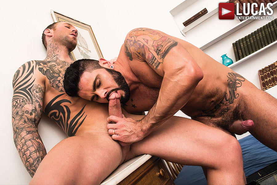 Mario Domenech Gives His Ass To Dylan James - Gay Movies - Lucas Entertainment
