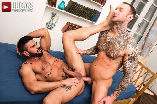 Mario Domenech Gives His Ass To Dylan James - Gay Movies - Lucas Entertainment