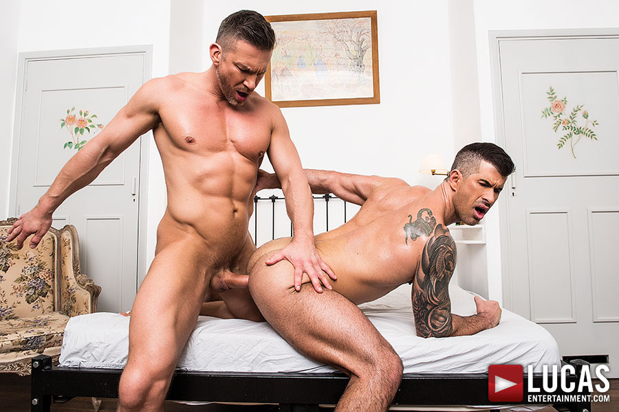 Tomas Brand And Adam Killian | Clash Of The Muscle Jocks - Gay Movies - Lucas Entertainment