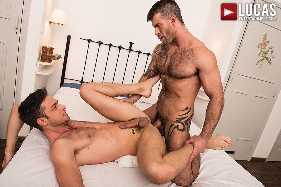Damon Heart Flip-Fucks With Adam Killian  - Gay Movies - Lucas Entertainment