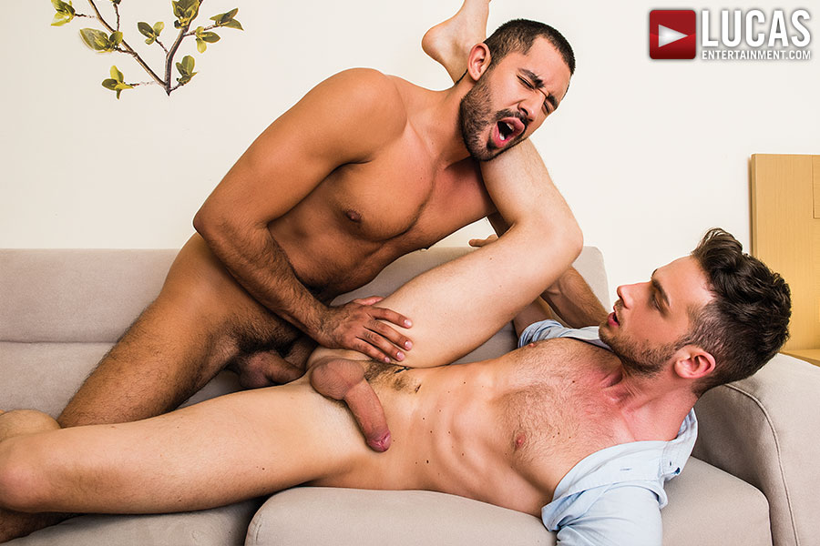 Gabriel Taurus Tops Damon Heart Raw - Gay Movies - Lucas Entertainment