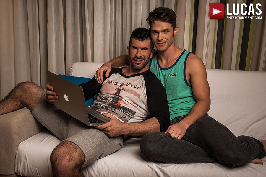 Devin Franco Makes His Debut With Adam Killian - Gay Movies - Lucas Entertainment