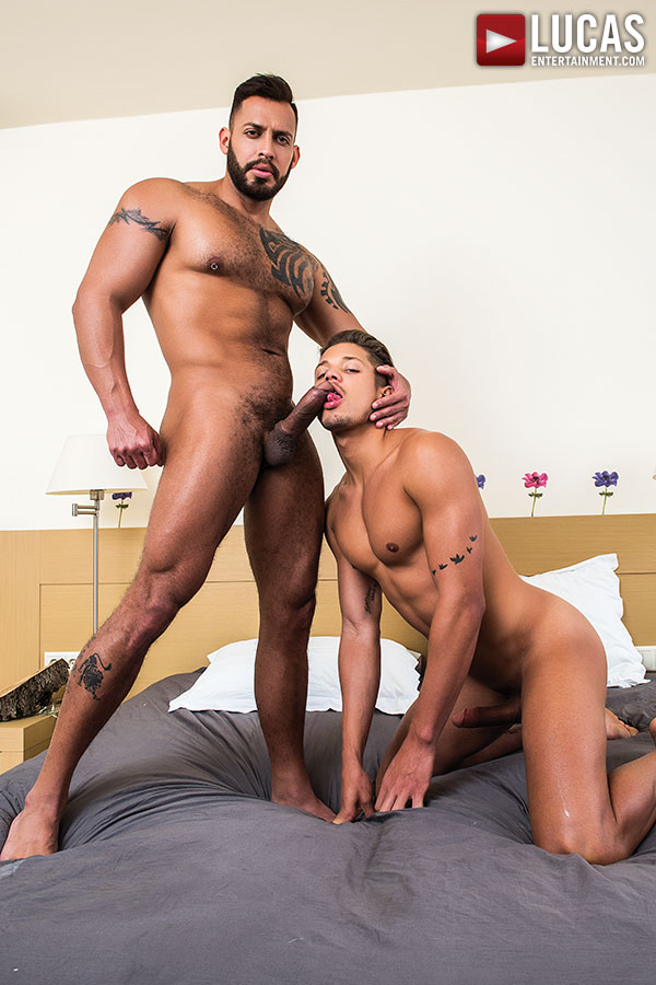 Viktor Rom Pounds Lorenzo Ciao's Fuck Hole - Gay Movies - Lucas Entertainment