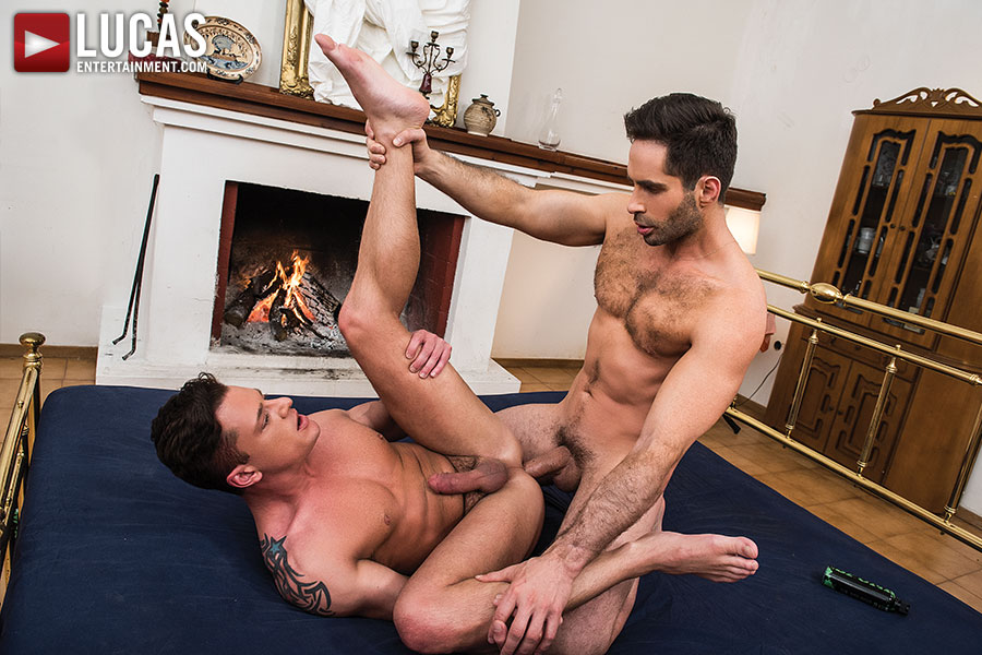 Rex Cameron Bottoms For Michael Lucas - Gay Movies - Lucas Entertainment