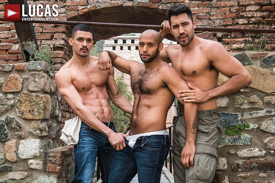 Double Penetration | Ibrahim Moreno, Leo Forte, Gabriel Taurus - Gay Movies - Lucas Entertainment