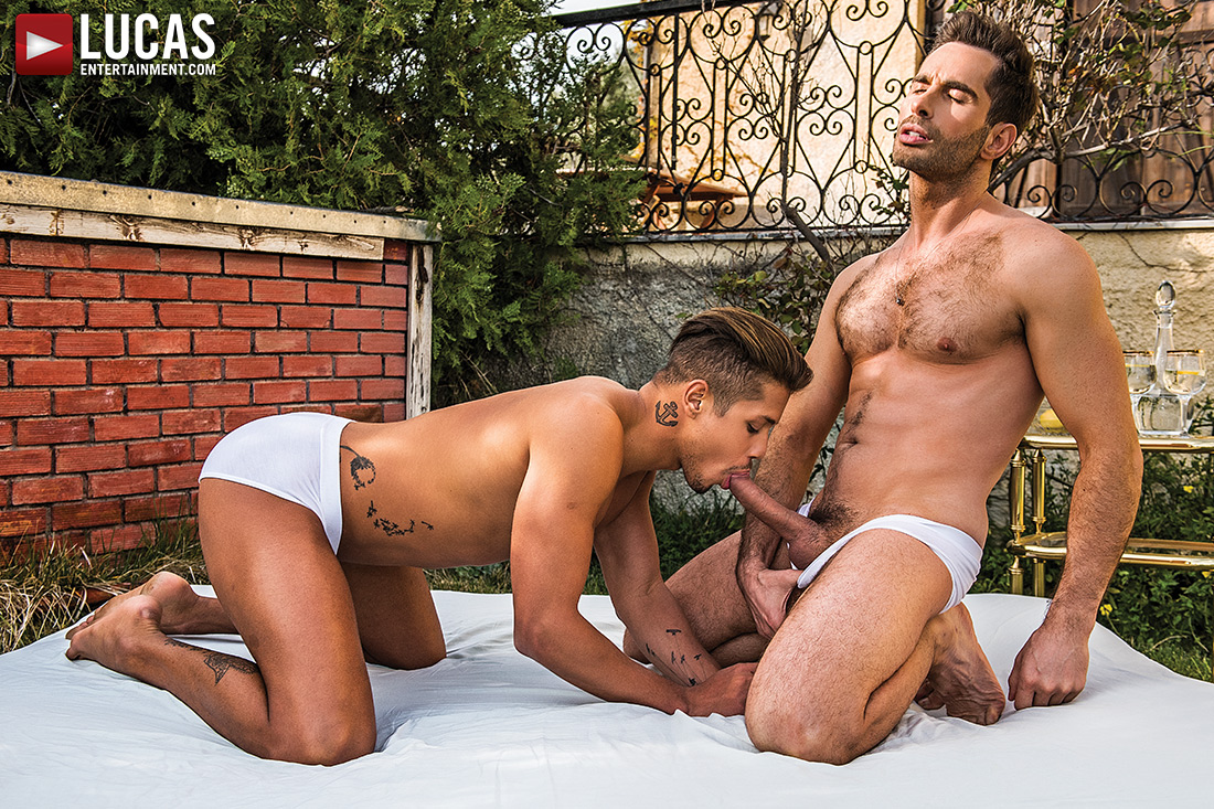 Lorenzo Ciao Bottoms For Michael Lucas - Gay Movies - Lucas Entertainment