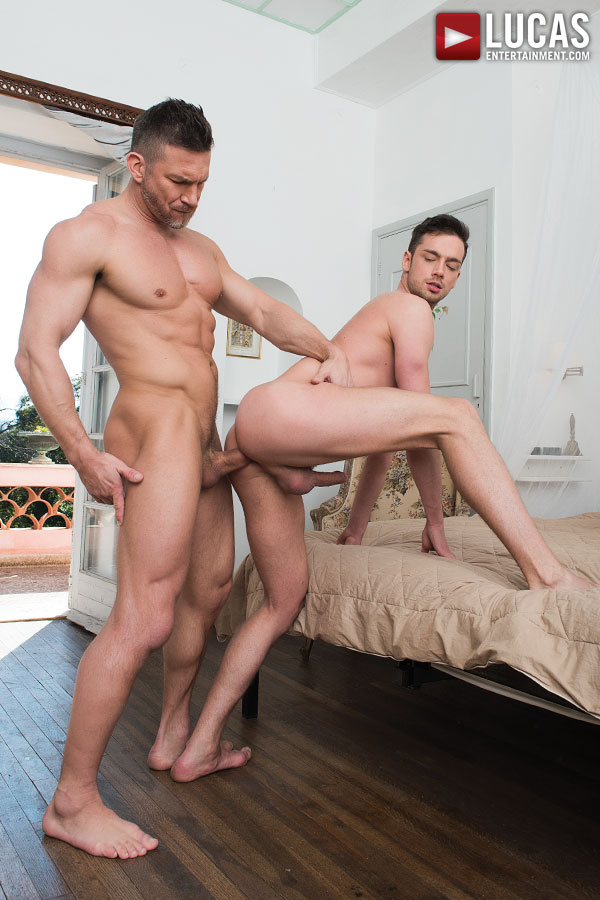 Tomas Brand Gives His Daddy Dick To Damon Heart - Gay Movies - Lucas Entertainment