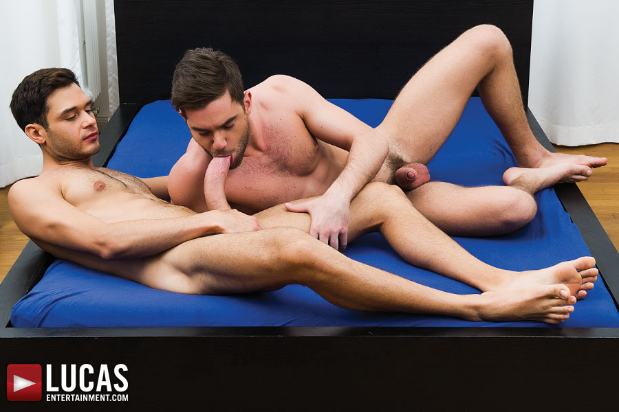 Zander Craze And Leo Alexander Play With Their Hung Meat - Gay Movies - Lucas Entertainment