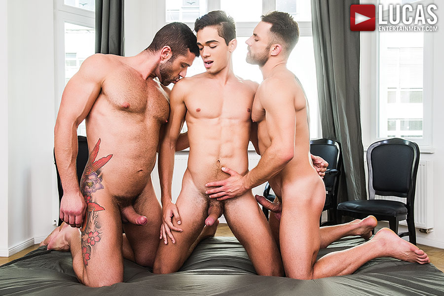 Ashton Summers Bottoms For James Castle And Letterio Amadeo - Gay Movies - Lucas Entertainment