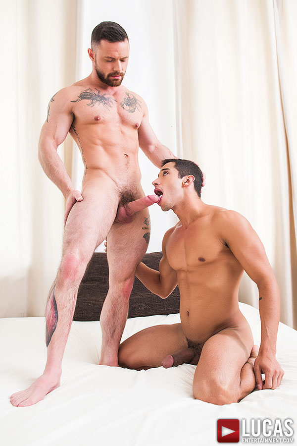 Drae Axtell Flip-Fucks With Sergeant Miles - Gay Movies - Lucas Entertainment