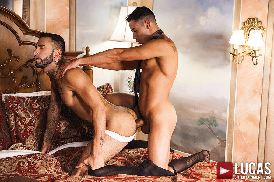 Drae Axtell Shoots His Load With Rikk York - Gay Movies - Lucas Entertainment