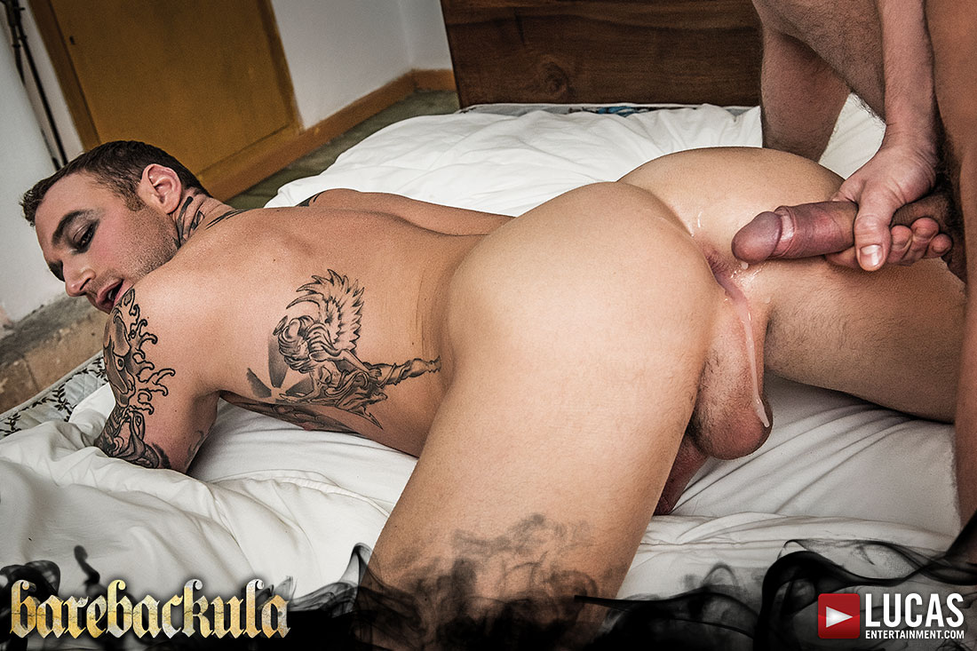 Barebackula's Servants Fuck For Their Master - Gay Movies - Lucas Entertainment