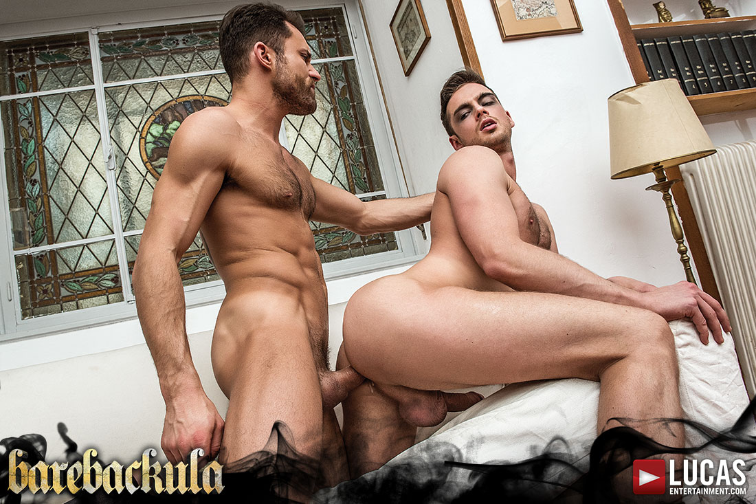 Barebackula Claims The Cum Of Jonathan Harder - Gay Movies - Lucas Entertainment