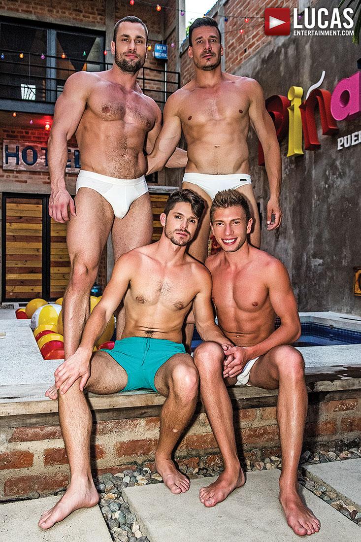 Devin Franco And Bogdan Gromov Bottom For Stas Landon And Roman Berman - Gay Movies - Lucas Entertainment