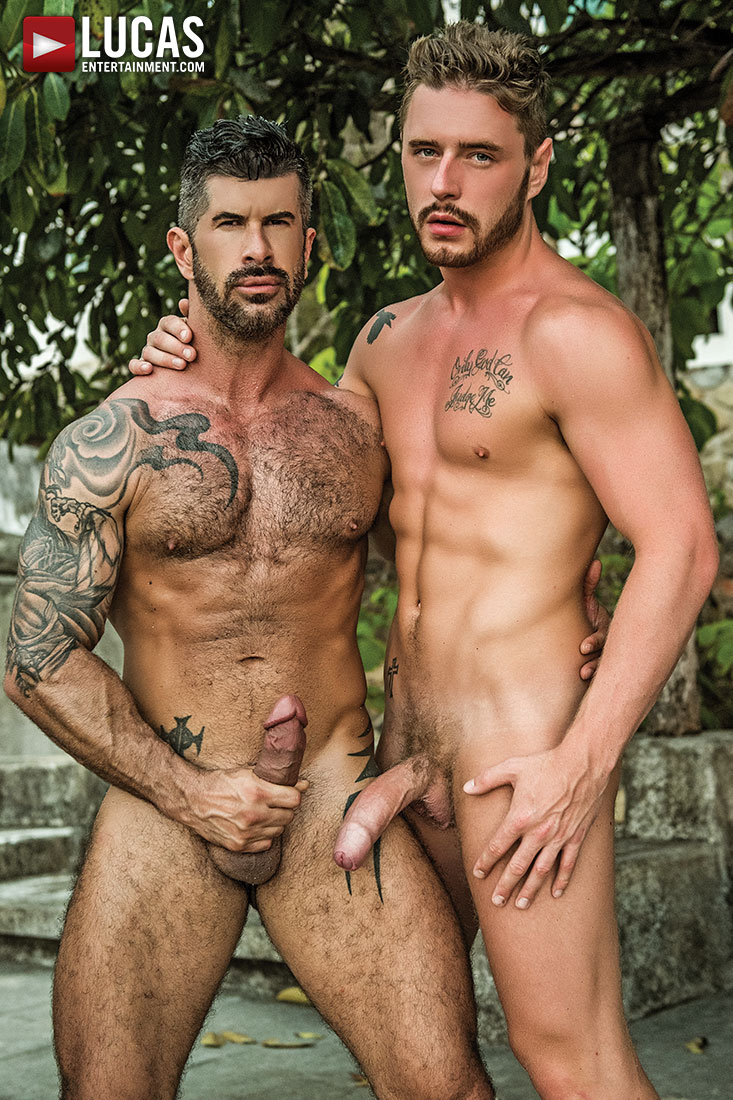 Josh Rider Services Adam Killian's Cock - Gay Movies - Lucas Entertainment