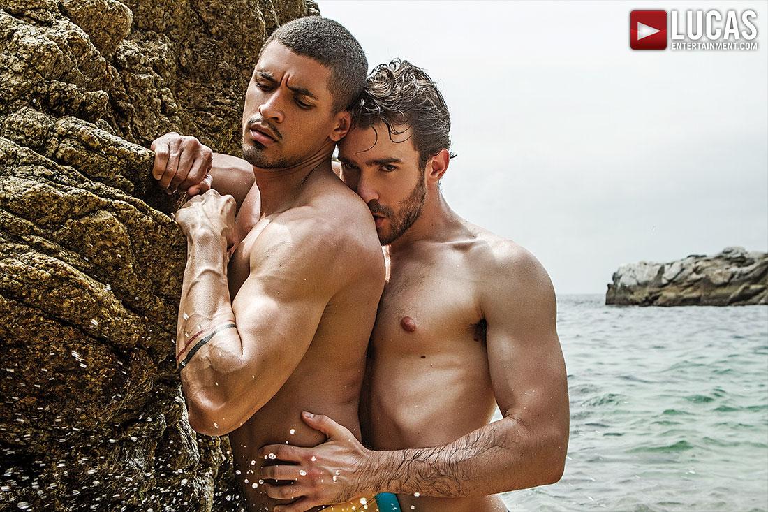 Philip Zyos Fucks Ibrahim Moreno Raw - Gay Movies - Lucas Entertainment
