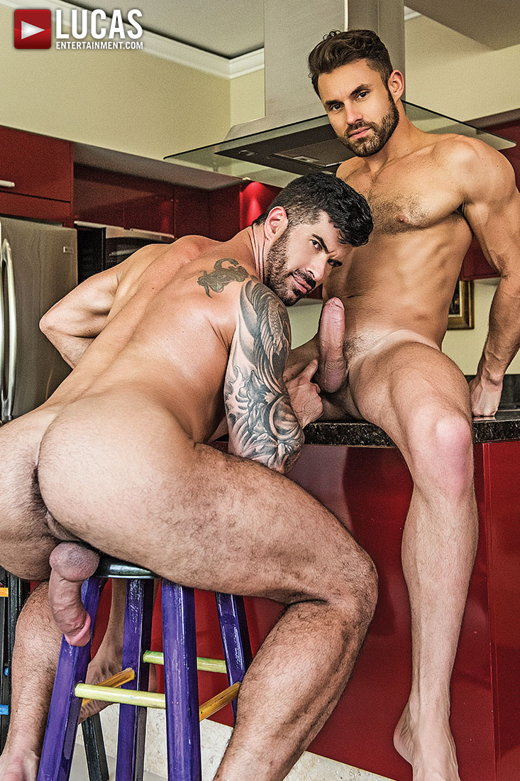 James Castle And Adam Killian Fuck Bareback - Gay Movies - Lucas Entertainment
