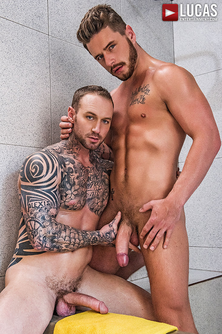 Dylan James Fucks His Workout Bud Josh Rider Bareback - Gay Movies - Lucas Entertainment