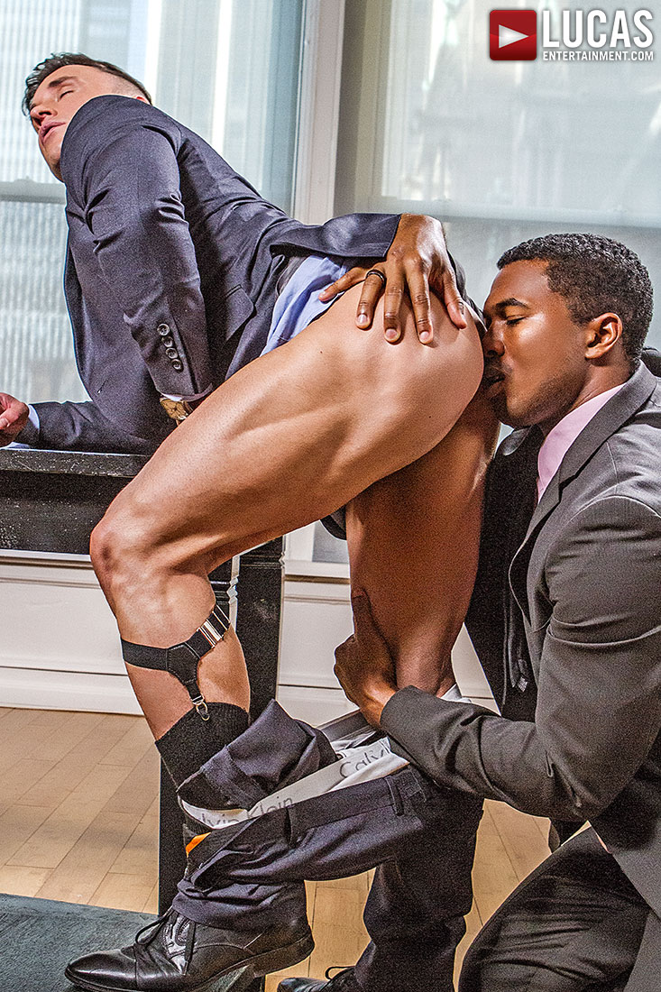 Sean Xavier And Alexander Volkov | Interracial Sex In Suits - Gay Movies - Lucas Entertainment