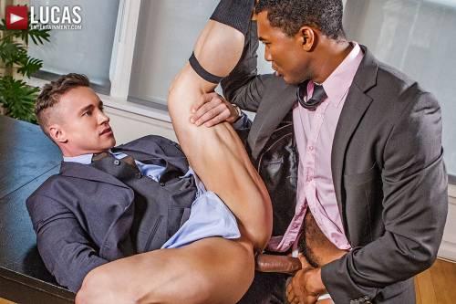 Sean Xavier And Alexander Volkov | Interracial Sex In Suits - Gay Movies - Lucas Entertainment