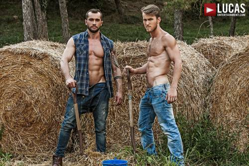 Marq Daniels Pounds Tyler Berg Raw - Gay Movies - Lucas Entertainment