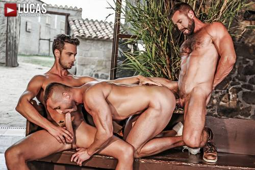Damon Heart and Dennis Sokolov Take Turns Servicing Bulrog - Gay Movies - Lucas Entertainment