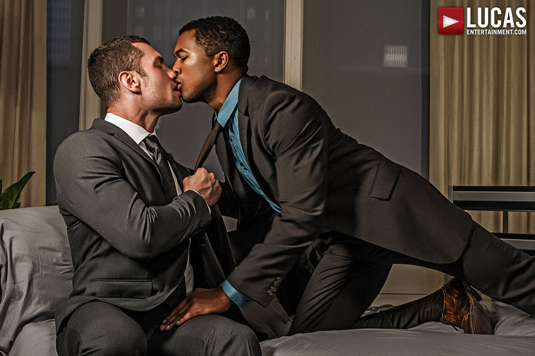 Sean Xavier And Stas Landon Flip-Fuck In Suits - Gay Movies - Lucas Entertainment