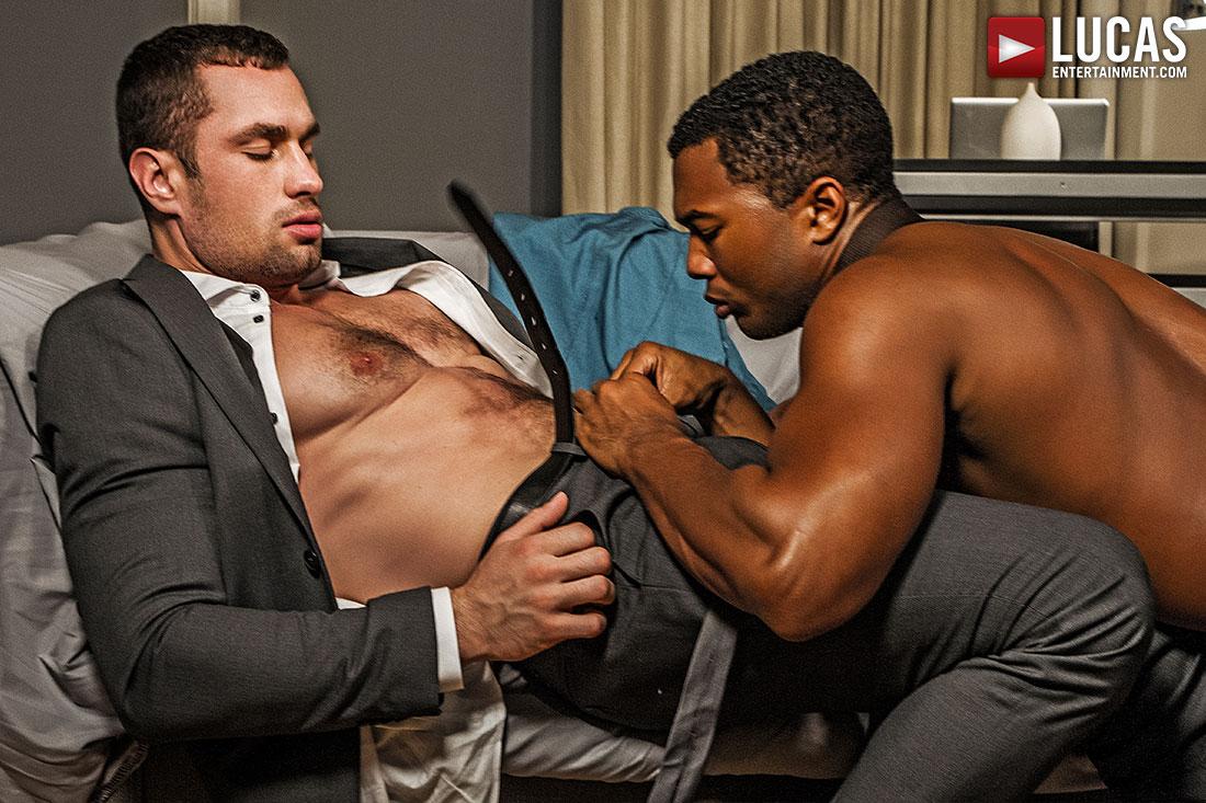 Sean Xavier And Stas Landon Flip-Fuck In Suits - Gay Movies - Lucas Entertainment
