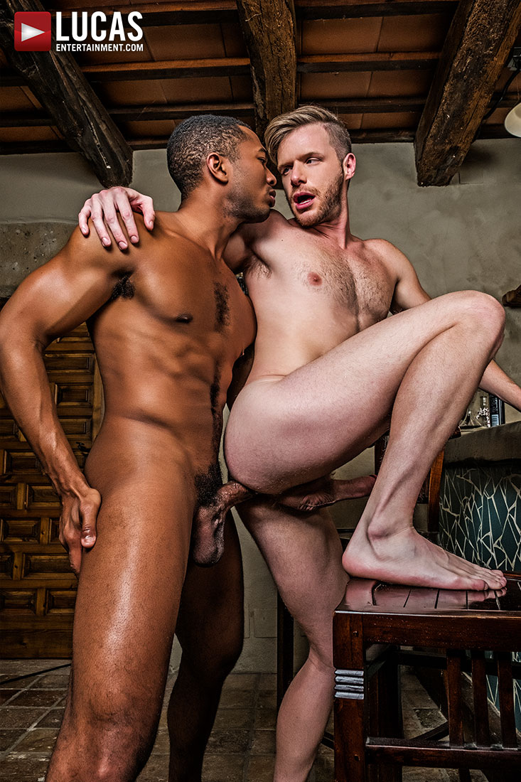 Sean Xavier Fucks Brian Bonds With His Raw Black Cock - Gay Movies - Lucas Entertainment