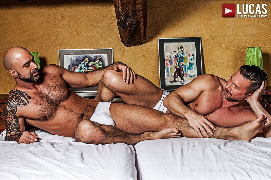 Tomas Brand Breeds His Real-Life Boyfriend Angelo Di Luca - Gay Movies - Lucas Entertainment