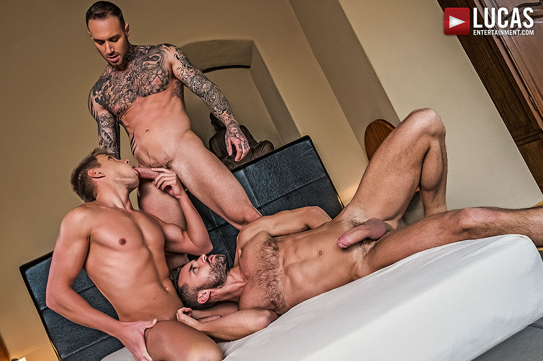 Ass-Fucking Alpha Males - Gay Movies - Lucas Entertainment