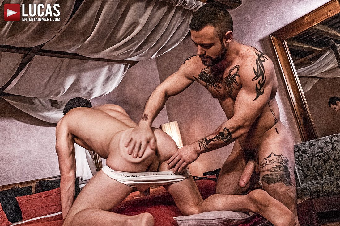 Sergeant Miles Dominates Jon Bae - Gay Movies - Lucas Entertainment