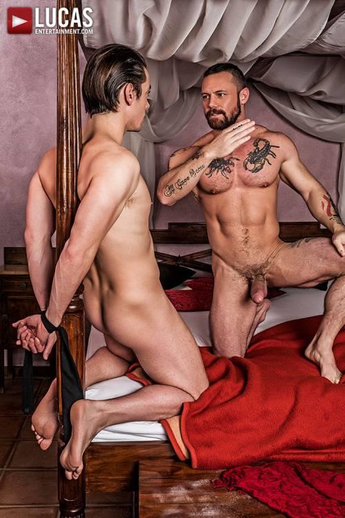 Sergeant Miles Dominates Jon Bae - Gay Movies - Lucas Entertainment