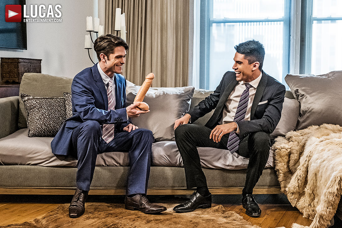 Devin Franco And Lee Santino Flip-Fuck In Suits - Gay Movies - Lucas Entertainment