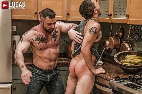 Sergeant Miles Owns Diego Gaston's Ass - Gay Movies - Lucas Entertainment