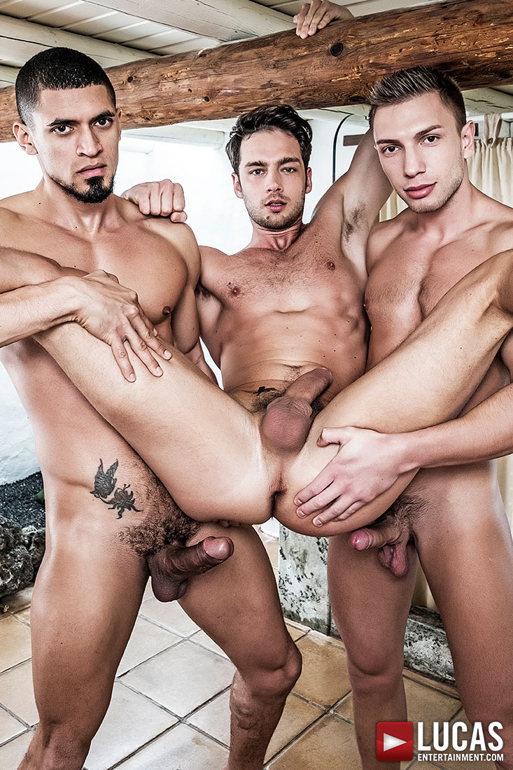 Damon Heart Gets Double-Fucked By Ibrahim Moreno And Bogdan Gromov - Gay Movies - Lucas Entertainment