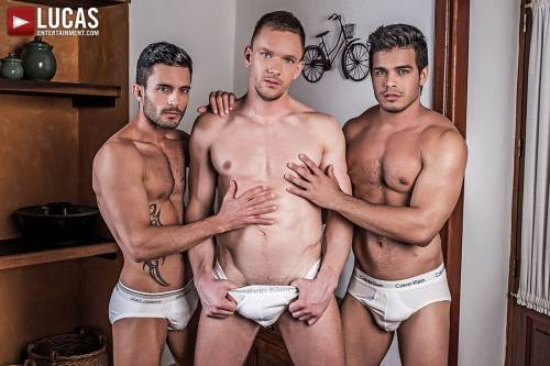 Andrey Vic Fucks Rico Marlon And Andy Star In The Ass - Gay Movies - Lucas Entertainment