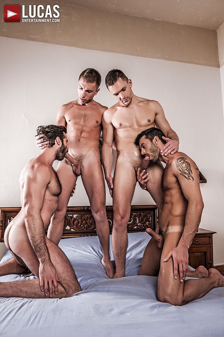 Naked men picking up cute twink
