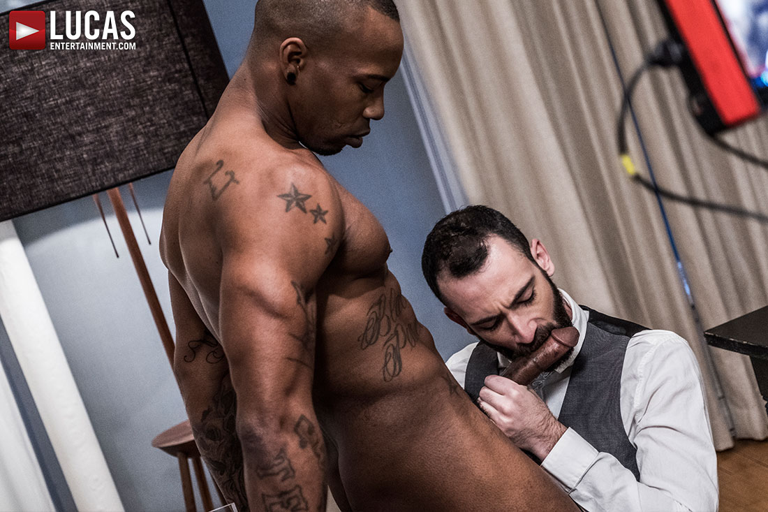 Stephen Harte Rides Black Pearl's Big Black Dick - Gay Movies - Lucas Entertainment