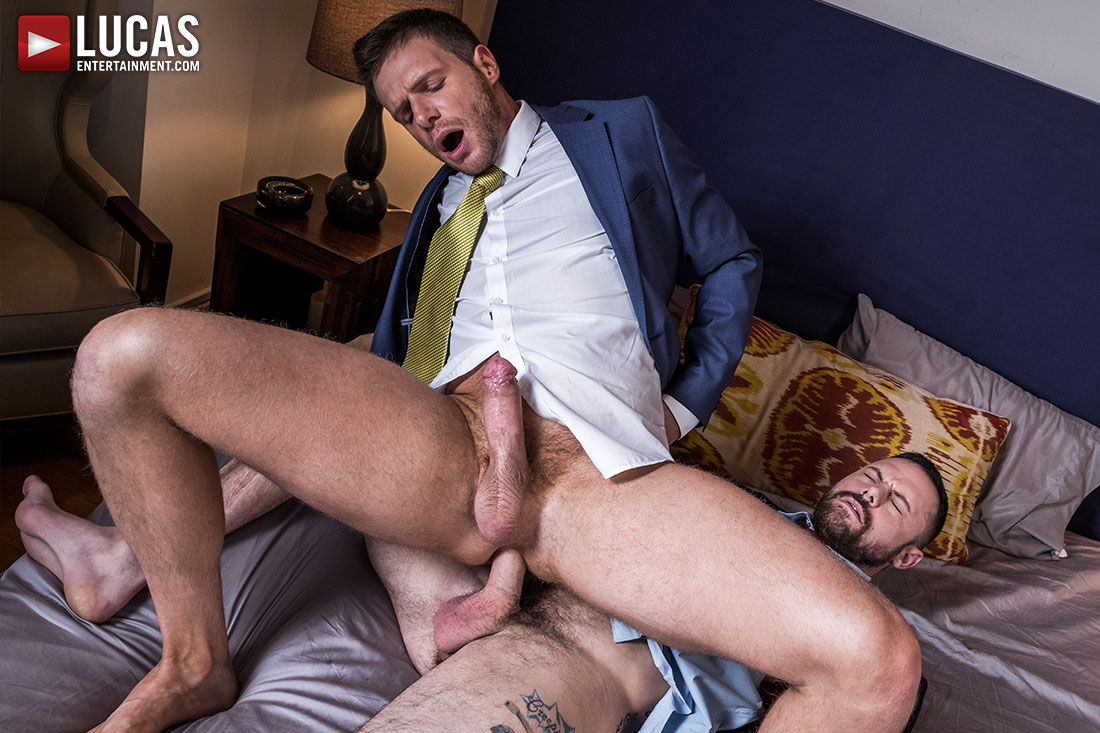 Sergeant Miles Dominates Brian Bonds' Ass - Gay Movies - Lucas Entertainment