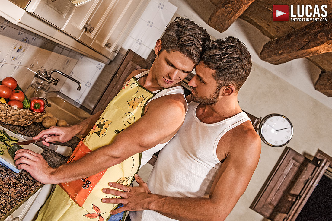 James Castle, Devin Franco | Bareback Thanksgiving - Gay Movies - Lucas Entertainment