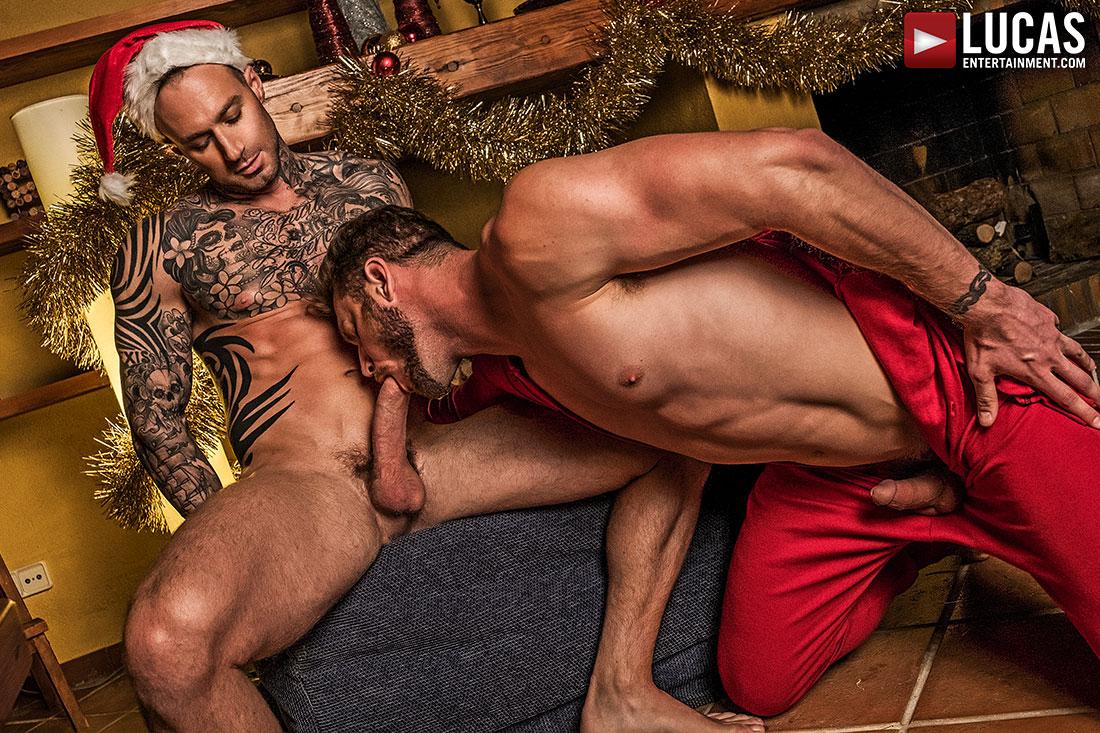 Gay porn christmas