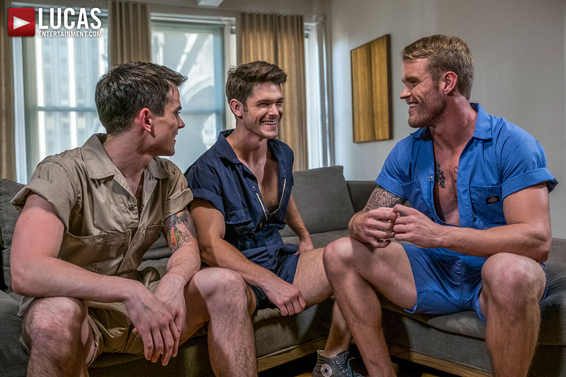 Devin Franco, Shawn Reeve, Dakota Payne | Raw In Rompers - Gay Movies - Lucas Entertainment