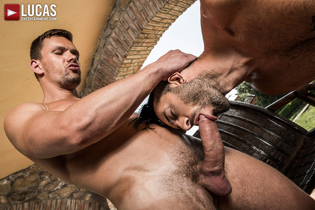 Brock Magnus And Andrey Vic Double-Team Andy Star Raw - Gay Movies - Lucas Entertainment