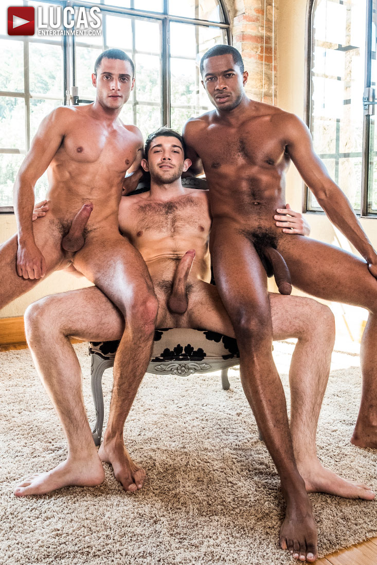 Sean Xavier And Javi Velaro Double Penetrate Ben Batemen - Gay Movies - Lucas Entertainment