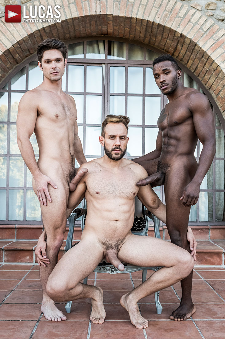 Mario Galeno Barebacks Devin Franco And Pheonix Fellington - Gay Movies - Lucas Entertainment