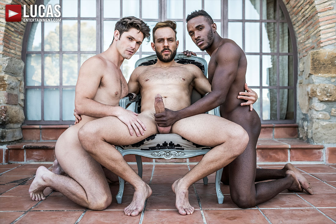 Mario Galeno Barebacks Devin Franco And Pheonix Fellington - Gay Movies - Lucas Entertainment