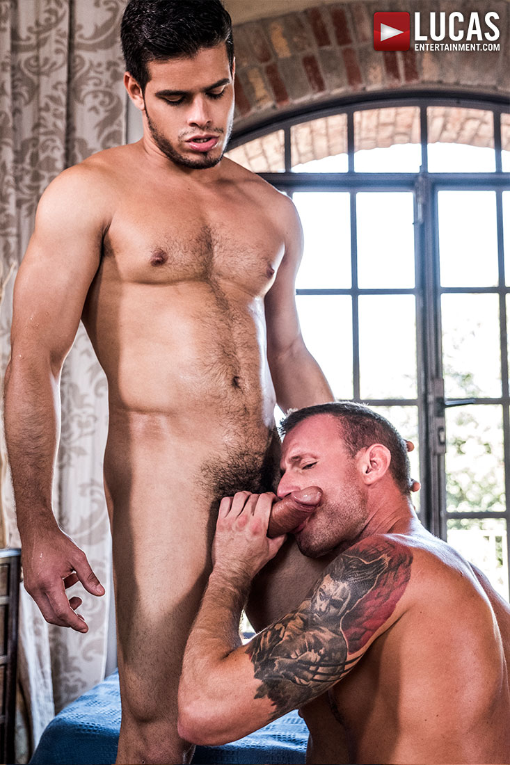 Rico Marlon Breeds Logan Rogue - Gay Movies - Lucas Entertainment