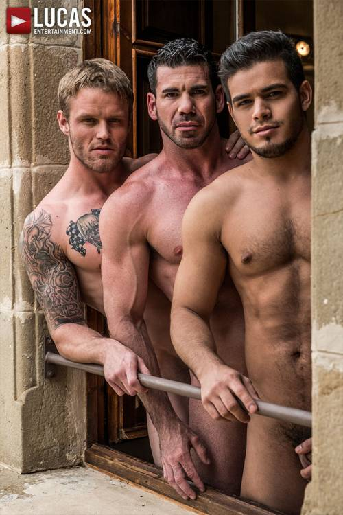 Hole & Face   Rico Marlon, Shawn Reeve, Billy Santoro - Gay Movies - Lucas Entertainment